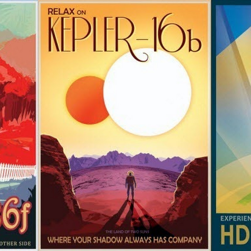 NASA's Exoplanet Travel Posters Dream of Out of The World Vacations