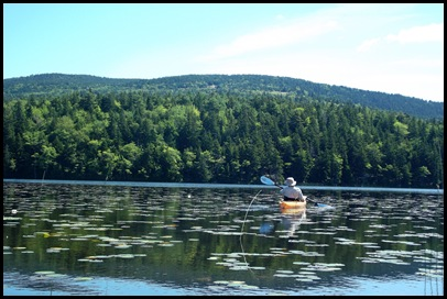 Kayaking Seal Cove Pond 245