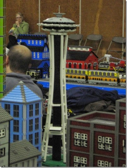 IMG_0174 Greater Portland Lego Railroaders Layout at the Great Train Expo in Portland, Oregon on February 16, 2008