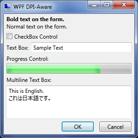 WPF DPI-Aware - 96 PPI