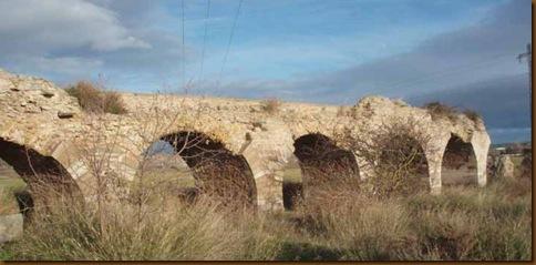 Acueducto de Lodosa - Vista desde el Oeste