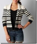Varigated Sweater Jacket