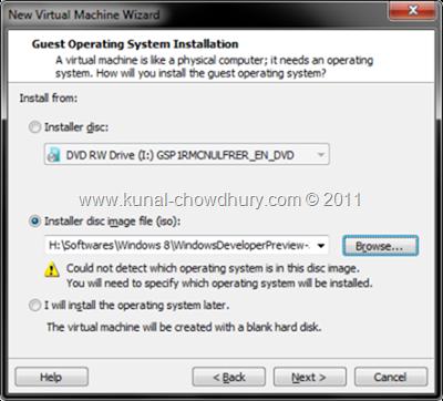 4. Mount the Installer Disk