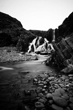 Coastal-Waterfall
