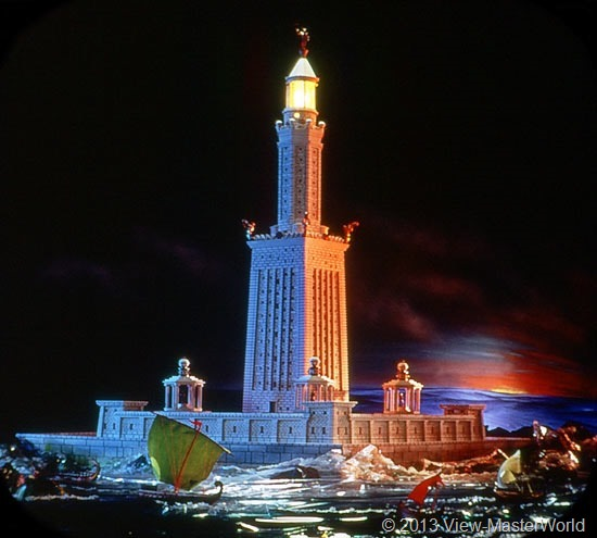 View-Master The Seven Wonders of the World (B901), Scene 3: Lighthouse at Alexandria