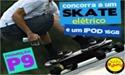 skate eletrico com controle remoto