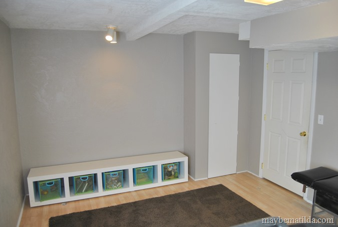 basement toy storage