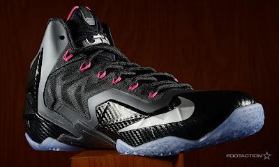 nike lebron 11 gr carbon fiber pink 6 05 Release Reminder: Nike LeBron XI (11) Miami Nights