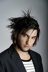shagy hairstyle for men
