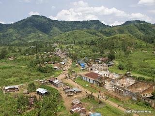 Nyabiondo centre dans le territoire de Masisi au Nord-Kivu.