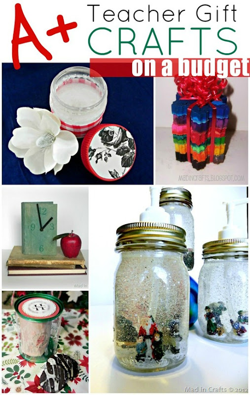 A  Homemade Teacher Gifts