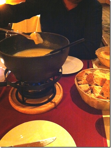 Fondue na Suica Switzerland Beatenberg