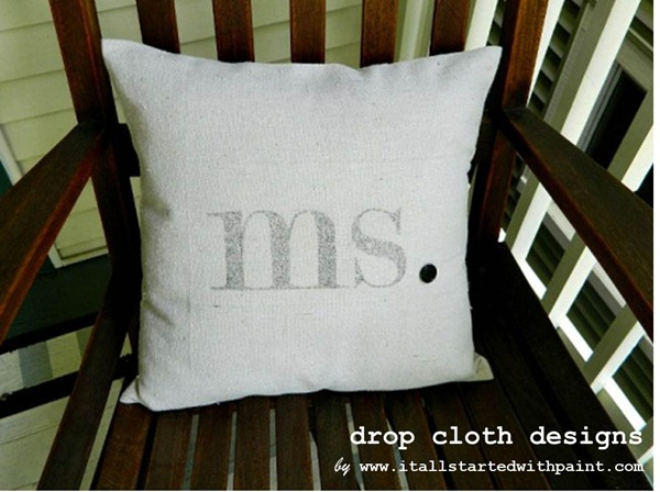 ms_monogram_on_pillow