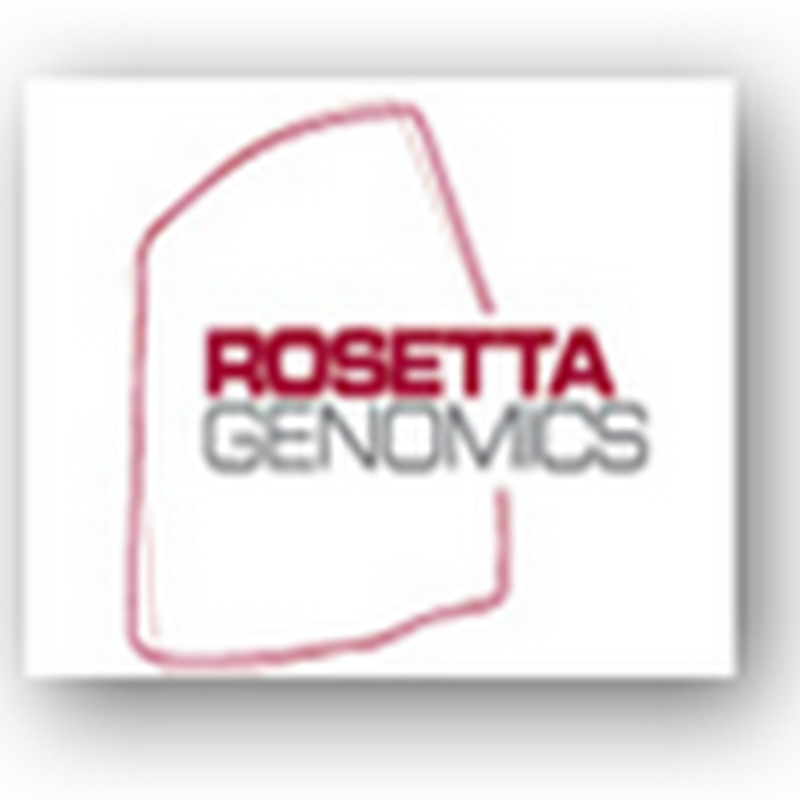 Rosetta Genomics Terminates Deal with Chinese Diagnostic Firm Due to Breach of Agreement