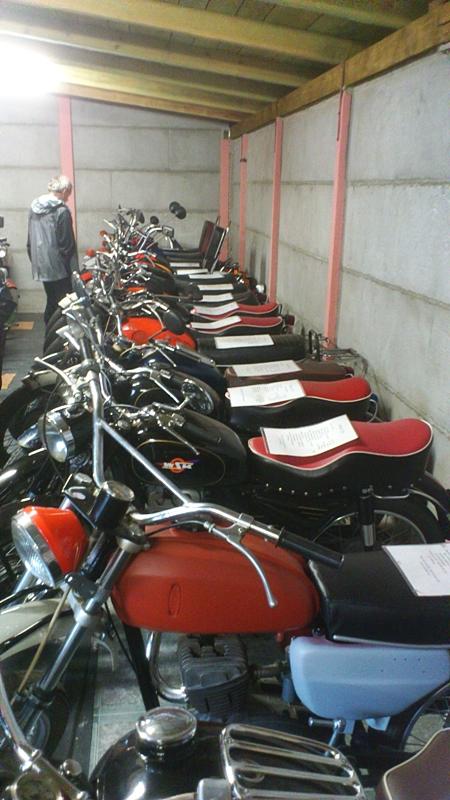 Borowno - muzeum motocykli