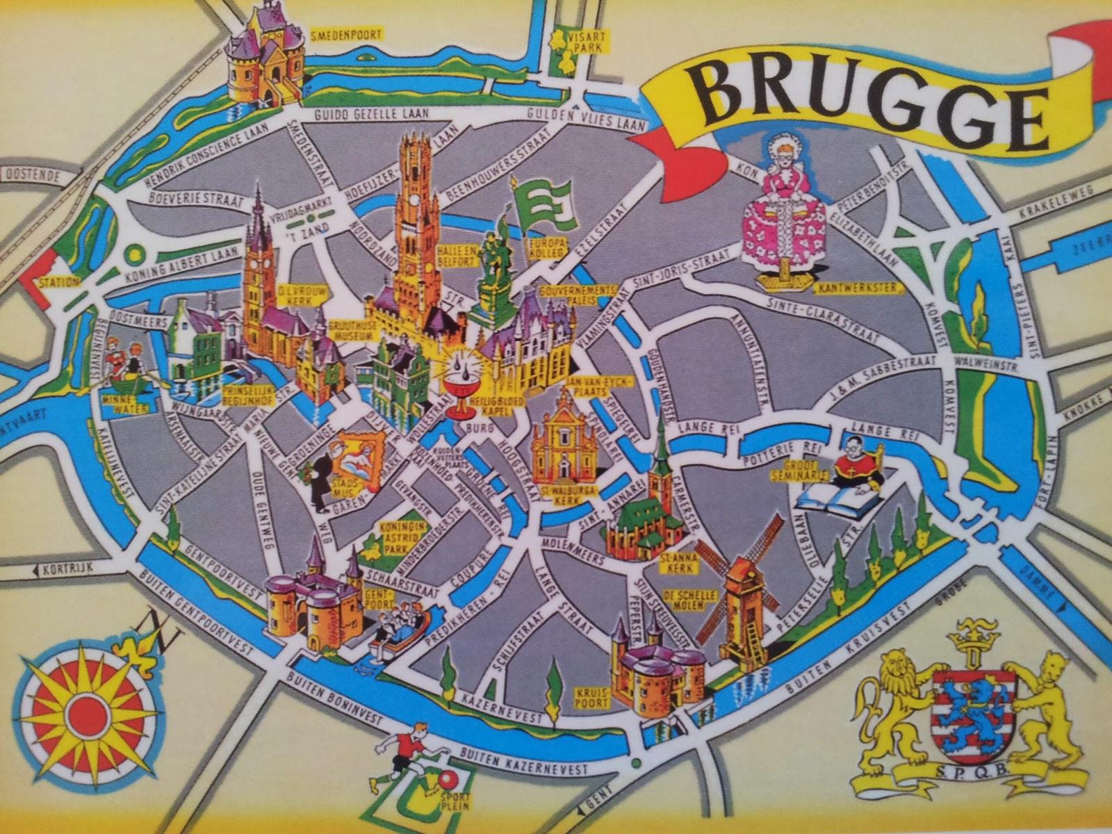 My UNESCO postcards BELGIUM Brugge