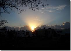Trumbo Point Campground Sunrise
