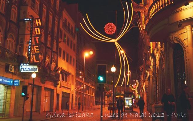 Glória Ishizaka - Luzes de Natal 2013 - Porto  11 Rua Sá da Bandeira