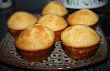 GF Corm Muffins