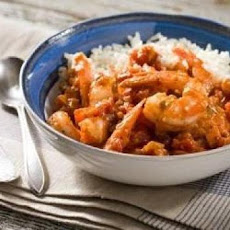 Shrimp with Spicy Creole Sauce