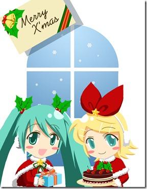 VOCALOID___MERRY_CHRISTMAS_by_akai_sakuranbo