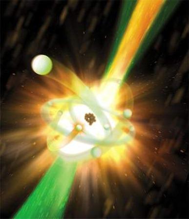 laser de raios X atômico
