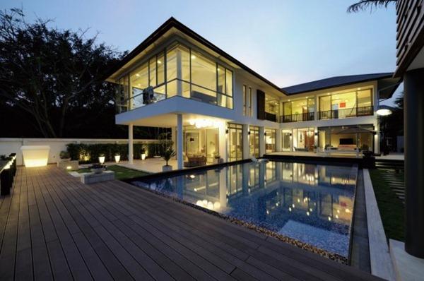 Fachafda-casa-Baan-Citta-de-estilo-minimalista-sostenible