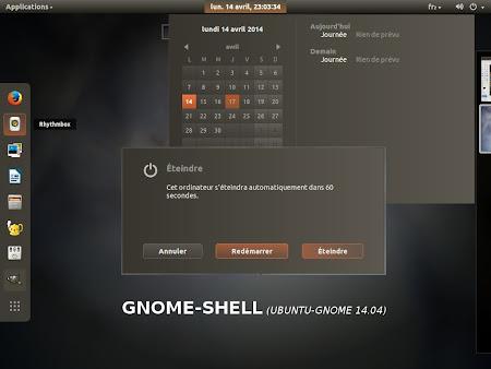 Ambiance Crunchy 14.04 in Ubuntu GNOME
