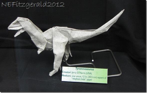 IMG_0650 Origami Tyrannosaurus
