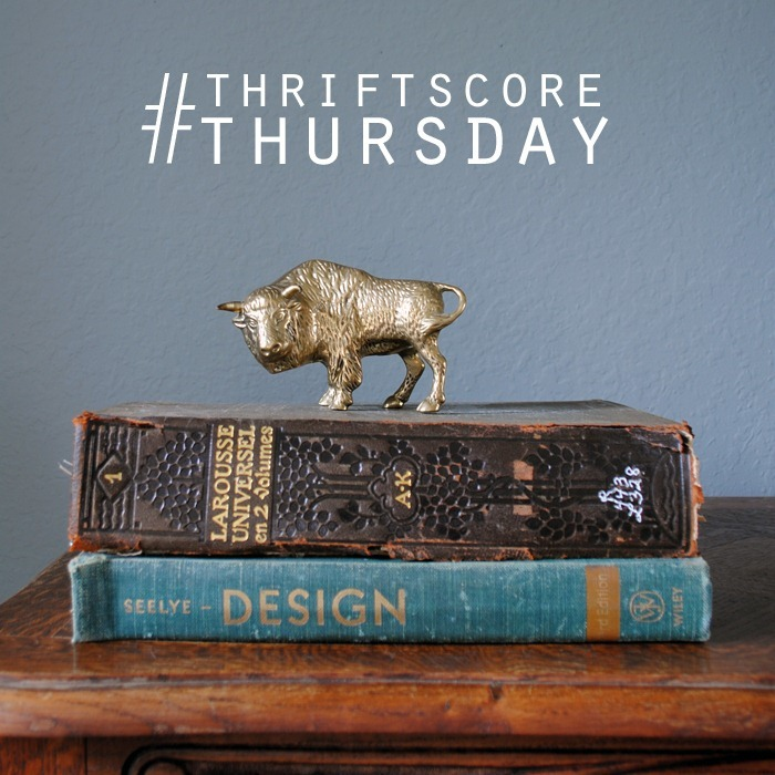 thriftsscorethursday brass buffalo