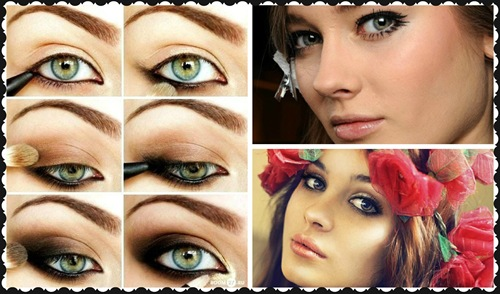 maquillaje smoky eye