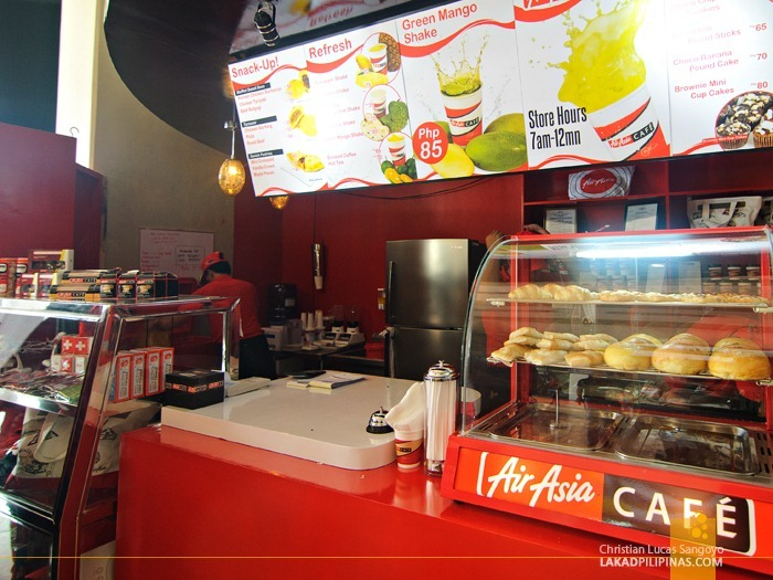 AirAsia Cafe at Clark International Airport