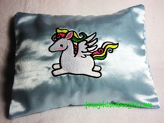 Feel Better Embrodiered Pegasus Herbal Dream Pillow