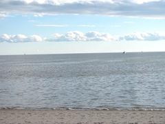 11.2011 line of clouds in Truro Beach
