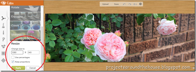 make a blog header 8