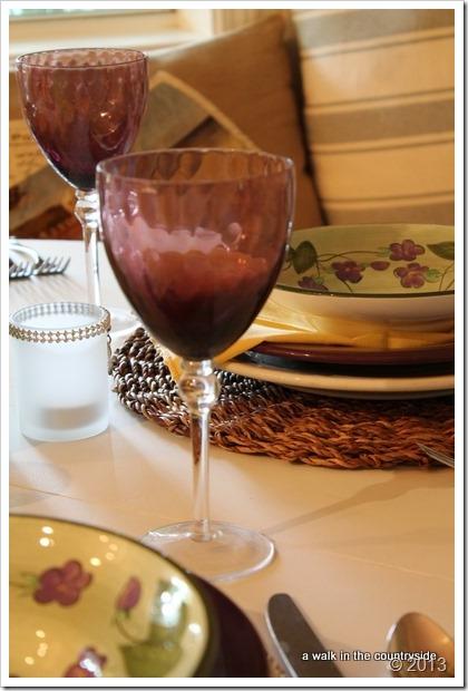 amethyst goblets