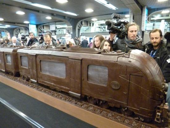 Trem de chocolate Belga 07
