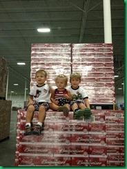 kids on beer