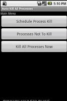 Screenshot of Auto Kill All Processes