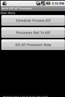 Screenshot of Auto Kill All Processes