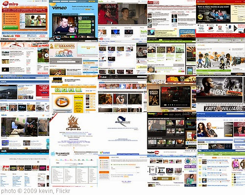 'online video ecology; in a grid' photo (c) 2009, kevin - license: https://creativecommons.org/licenses/by-sa/2.0/