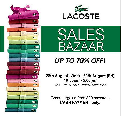 LACOSTE SALE 2013 BAZAAR WAREHOUSE POLO SHIRTS MEN WOMEN SHOES JACKET PANT T-shirt chinos DRESS SKIRT DENIM JEANS TENNIS GYM EXERCISE APPAREL ACCESSORIES BELT CAP SOCKS