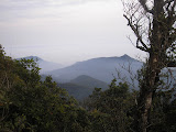 View west from near the summit of Gunung Besar (Daniel Quinn, October 2011)