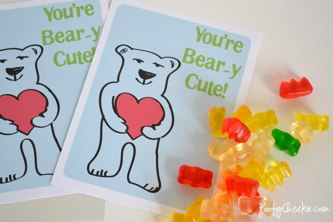 You're Bear-y Cute Card by Poofy Cheeks