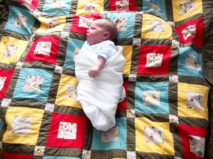 my ace on nursery rhyme quilt