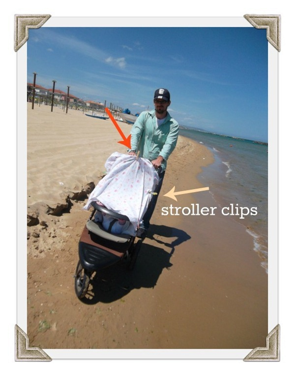 Stoller Clips Keep Out Sun