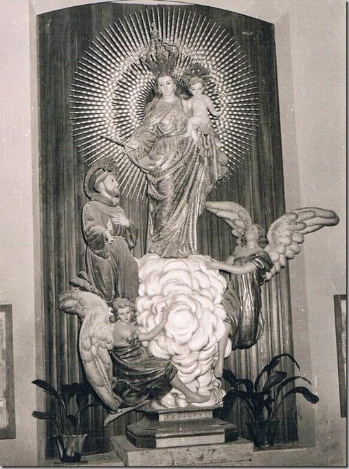 Nª Sª de los Ángeles del Cabanyal. 1969