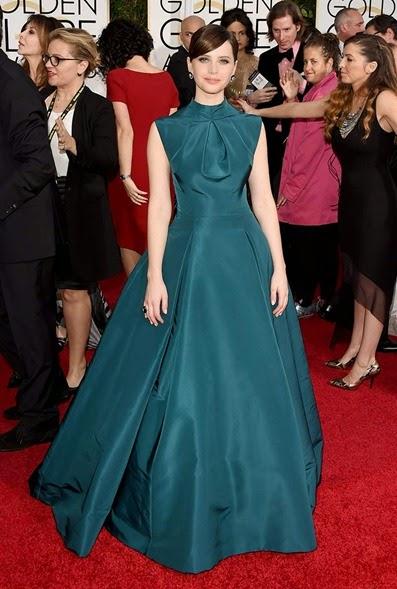 Felicity Jones de Dior