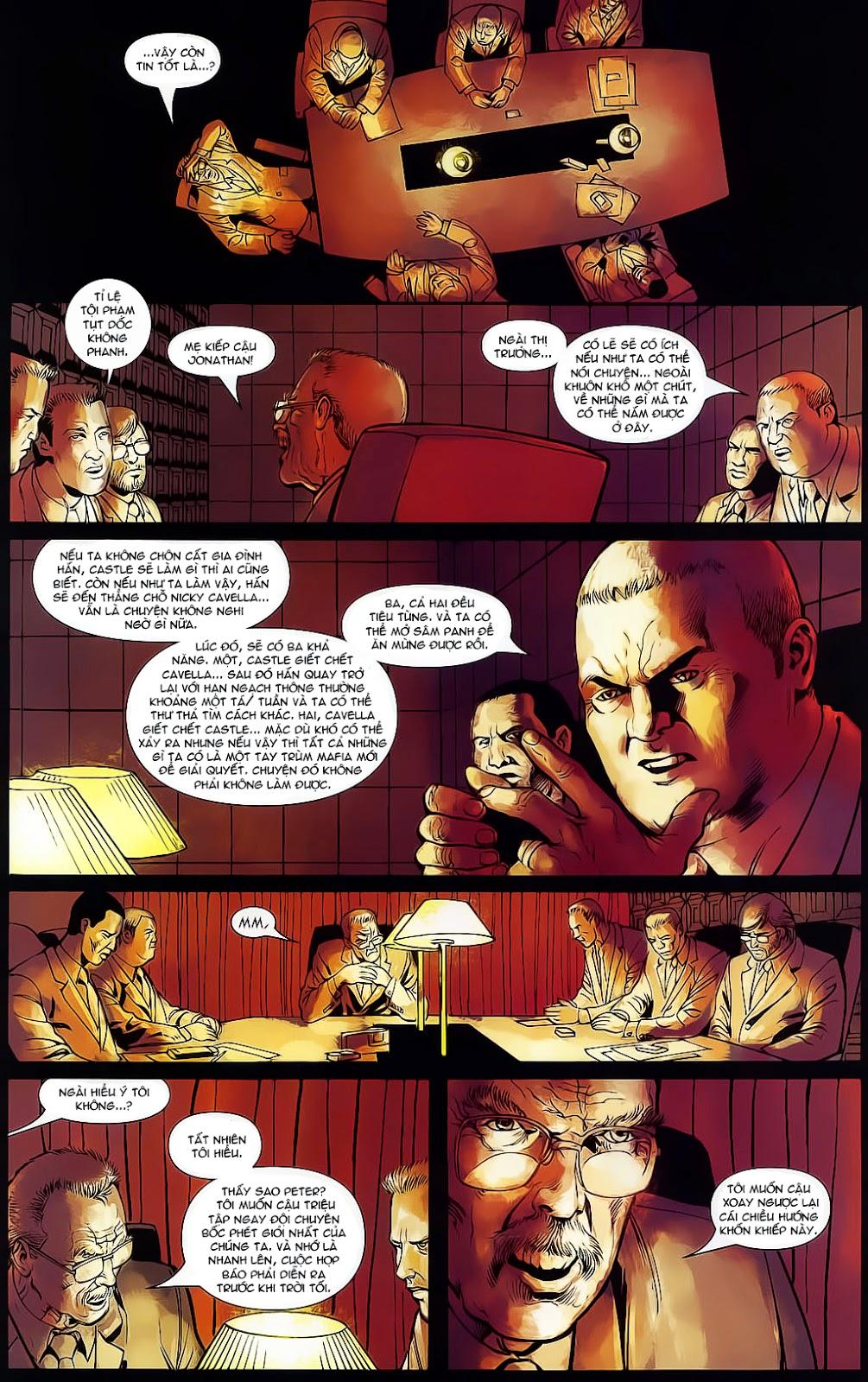 The Punisher: Trên là Dưới & Trắng là Đen chap 4 - Trang 15