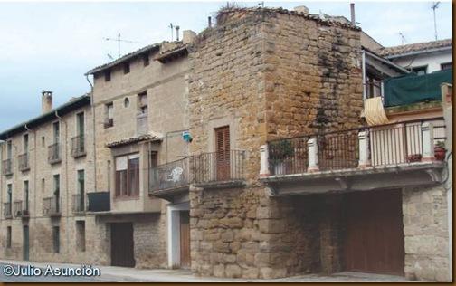 Torre de las murallas de Olite
